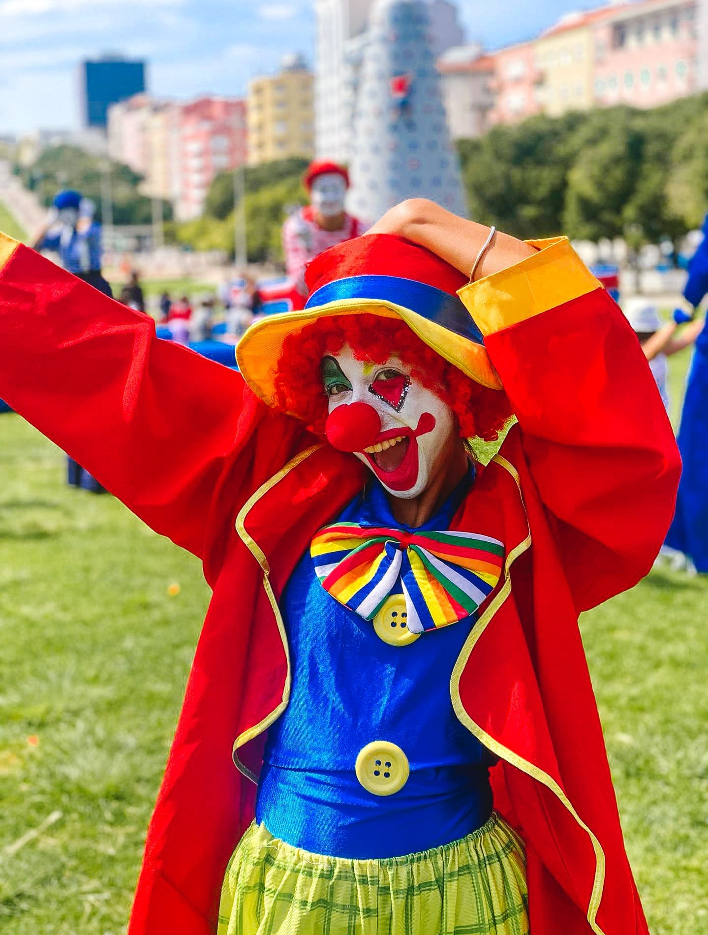 Palhaços - Clowning